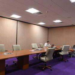 Privacy Shades For Conference Room