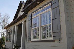 closeup of shutters